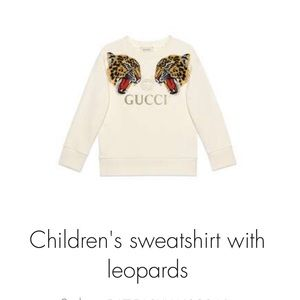 Gucci sweat shirt